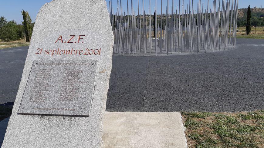 Le mémorial AZF, érigé en 2012, n'est pas du tout fréquenté par le grand public.