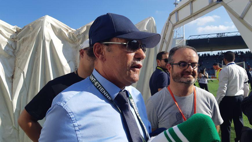 Roland Romeyer était à Nîmes ce dimanche.