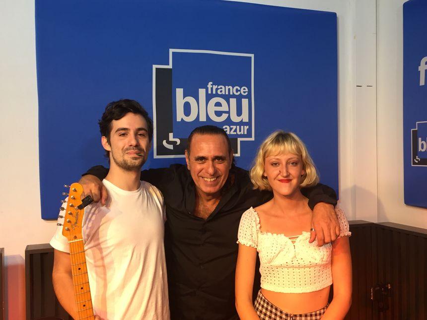 Pauline Maisonneuve , Stéphane Bonneval et Adrien Mangano