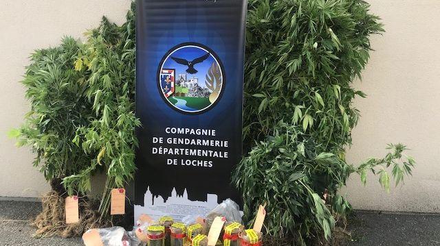 Les gendarmes ont aussi retrouvé 7.000 euros à son domicile.