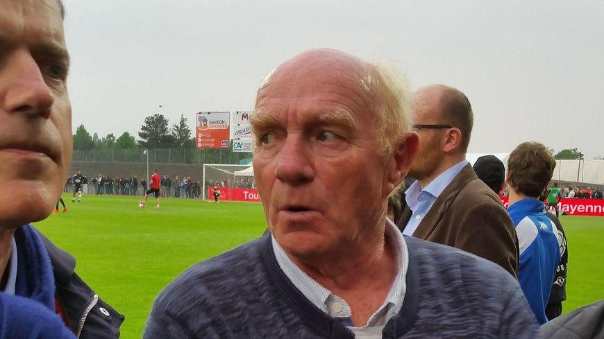 Jacky Rose qui disputa 94 matches de D1 dans les buts du Stade Lavallois