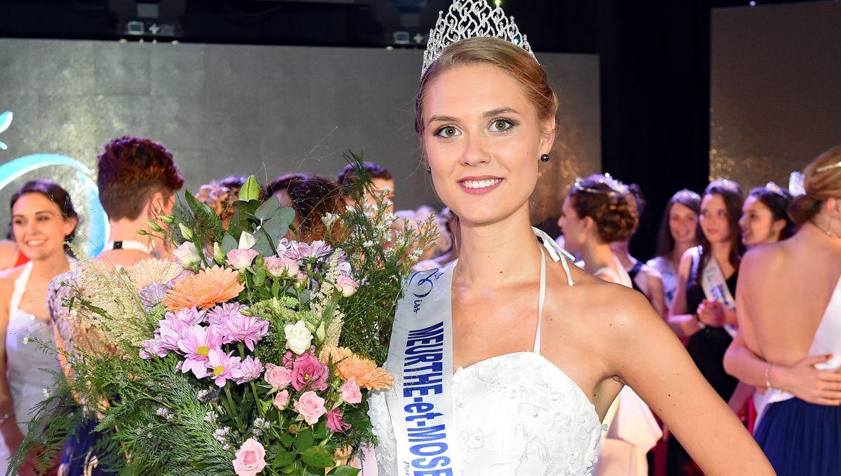 Ilona Robelin élue Miss Lorraine à Amnéville