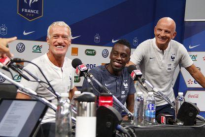 """Didier Deschamps, Blaise Matuidi et Guy Stéphan sur le plateau de """"La Bande originale"""" de Nagui"""