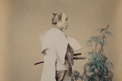Samouraï vers 1880