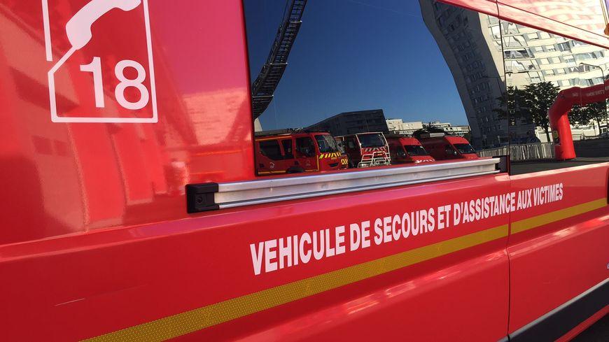 Deux ambulances des pompiers d'Auxerre sont notamment intervenues