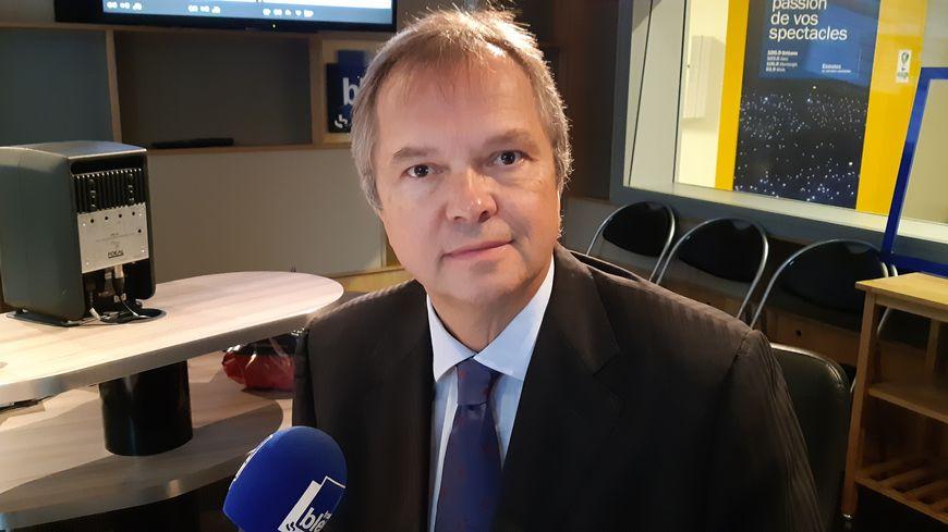 Didier Gérard le directeur de l'Open de tennis d'Orléans