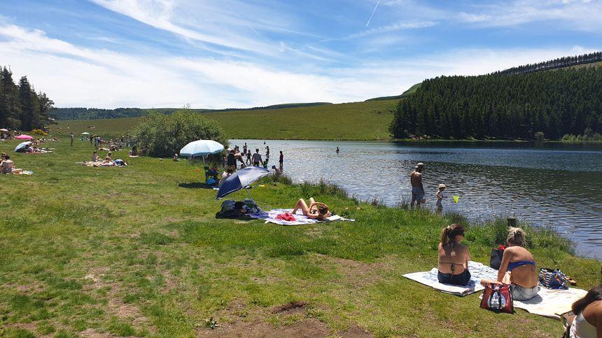 La baignade n'est pas autorisée au au lac de Servières