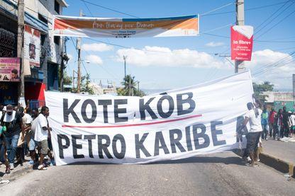 La révolte haïtienne des #PetroCaribeChallenger