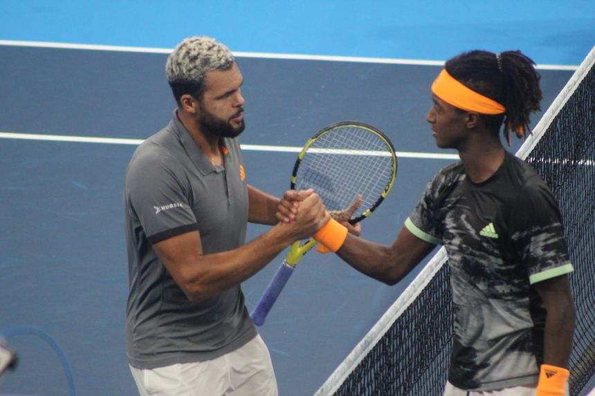 Jo-Wilfried Tsonga a félicité Mikael Ymer pour sa victoire samedi 28 septembre
