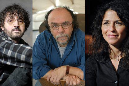 Jean Marie Gourio, Jean Michel Ribes et Karine Tuil