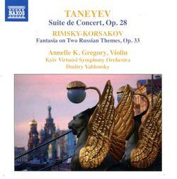 Suite de concert pour violon et orchestre op 28 : Tarentelle - ANNELLE K GREGORY