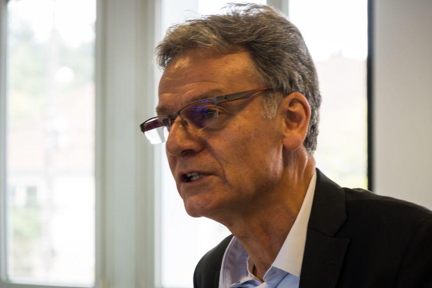 Alain Blinette, président de la Communauté de Communes du Val de Gray
