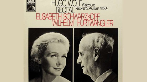 Hugo Wolf, Recital Elisabeth Schwarzkopf & Wilhelm Furtwängler