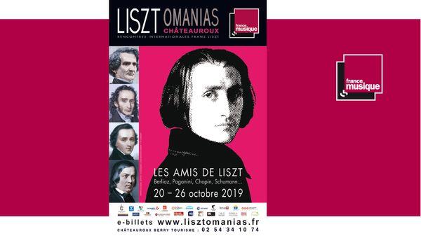 Festival Lisztomanias à Châteauroux du 20 au 26 octobre