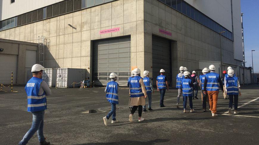 250 personnes ont visité la centrale nucléaire du Blayais.