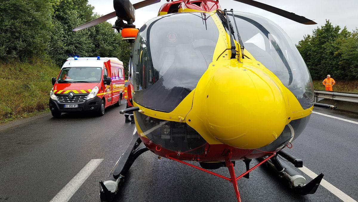 Nord-Cotentin : le motard blessé dans un accident sur la D22 est décédé