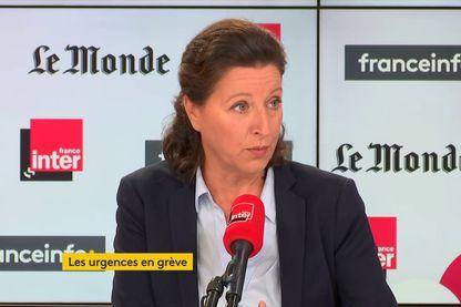 """Agnès Buzyn sur le plateau de """"Questions Politiques"""" le 8 septembre 2019"""