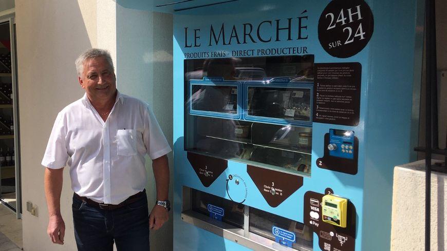 Christian Lanuque, le gérant de Terres d'Adour.