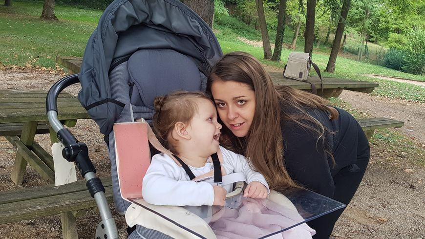 Giulia et sa maman Carla