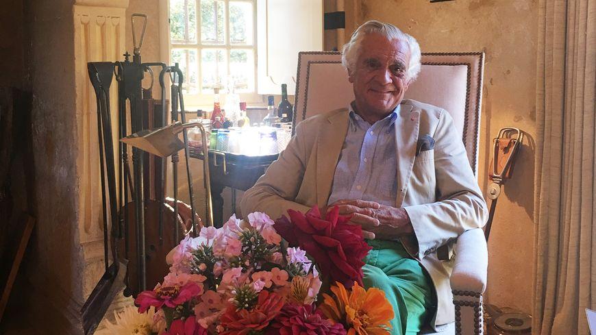 Patrick Sermadiras, le propriétaire des jardins du manoir d'Eyrignac