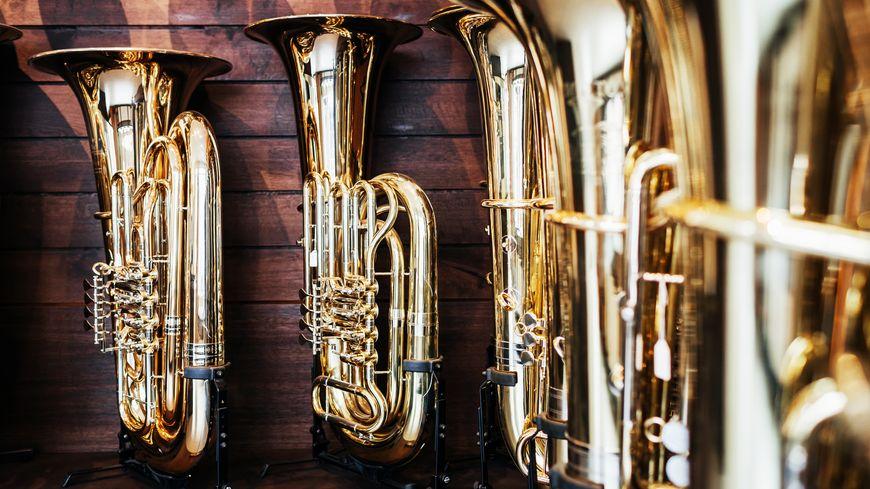 Illustration : instruments de musique à vent