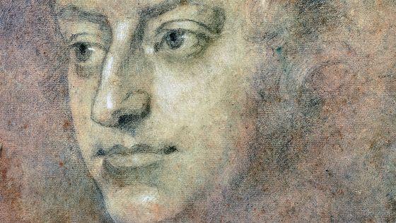 Portrait du compositeur Henry Purcell (Londres, 1659-1695).