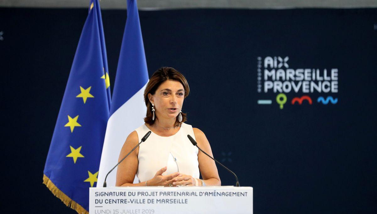 Martine Vassal est candidate aux municipales à Marseille