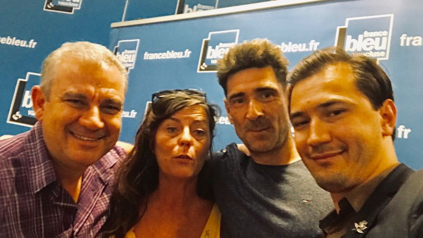 Frédéric SOULIÉ, Nathalie MAZET, Gaël WILD et Paulin REYNARD dans Aqui sian bèn.