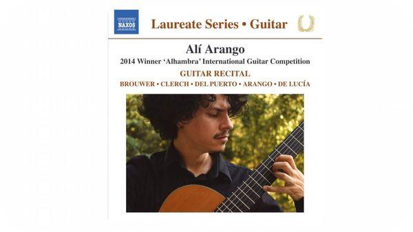 Récital de guitare par Ali Arango