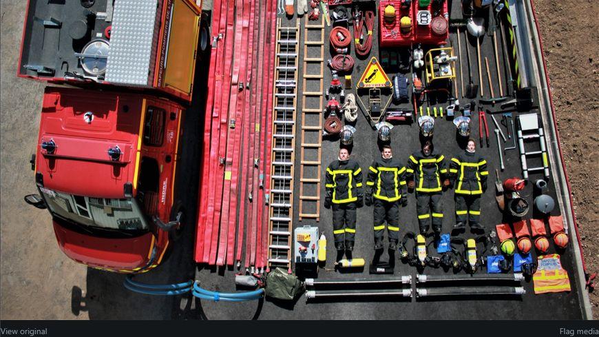 Les pompiers de Luçay-le-Mâle ont relevé le défi !