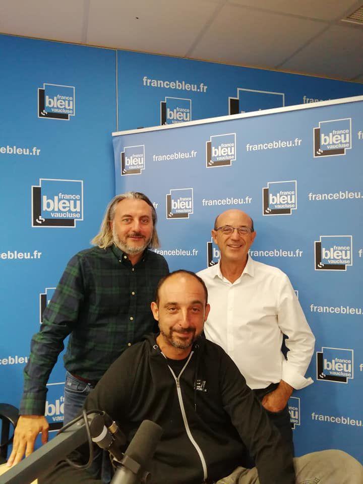 Patrick Filières, David Auran et Manu Lopez