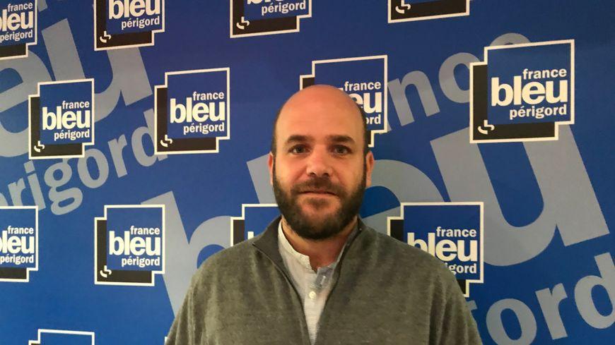 Julien Chouet, secrétaire départemental du PCF en Dordogne