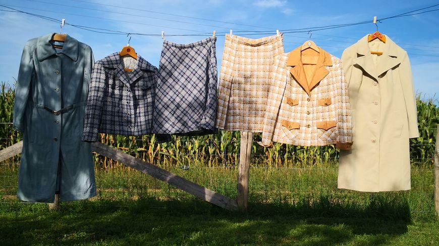 Psychofripes retravaille notamment des vêtements issus des années 1950