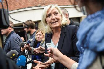 Marine Le Pen le 8 septembre 2019 à Hénin-Beaumont