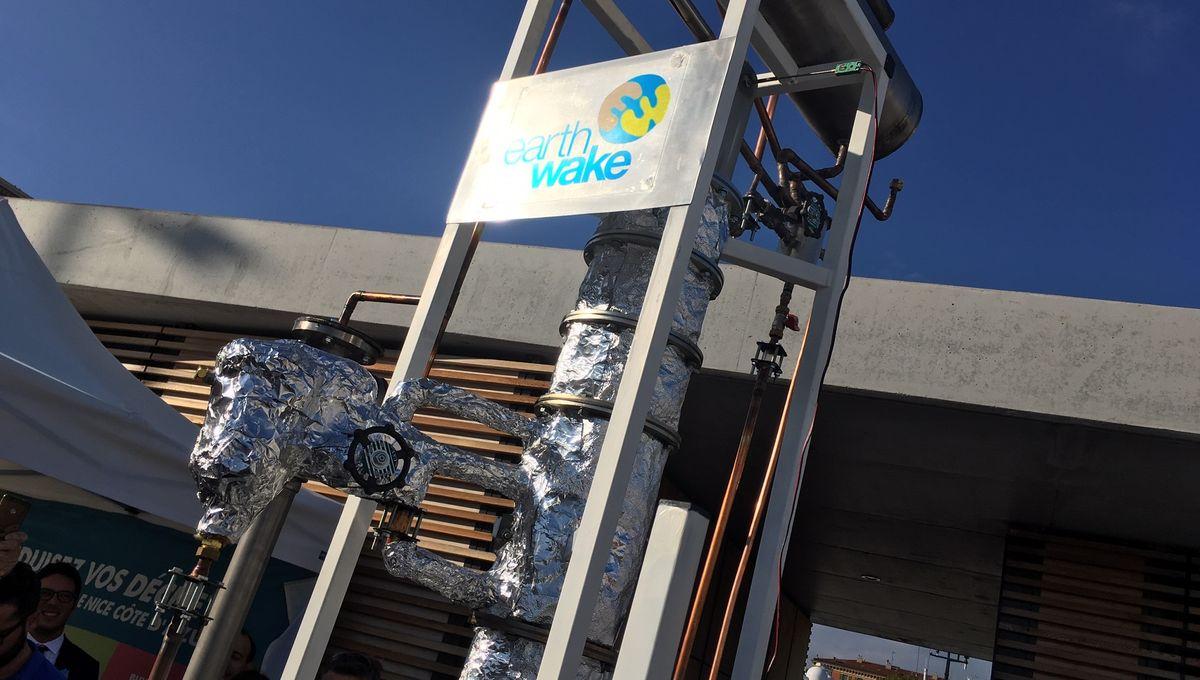 Chrysalis: la machine qui transforme les déchets plastiques en gazole