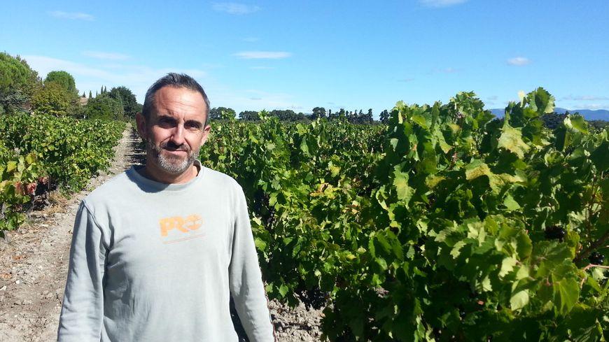 A Visan , François Pouizin est démoralisé quand on regarde les viticulteurs comme des pollueurs
