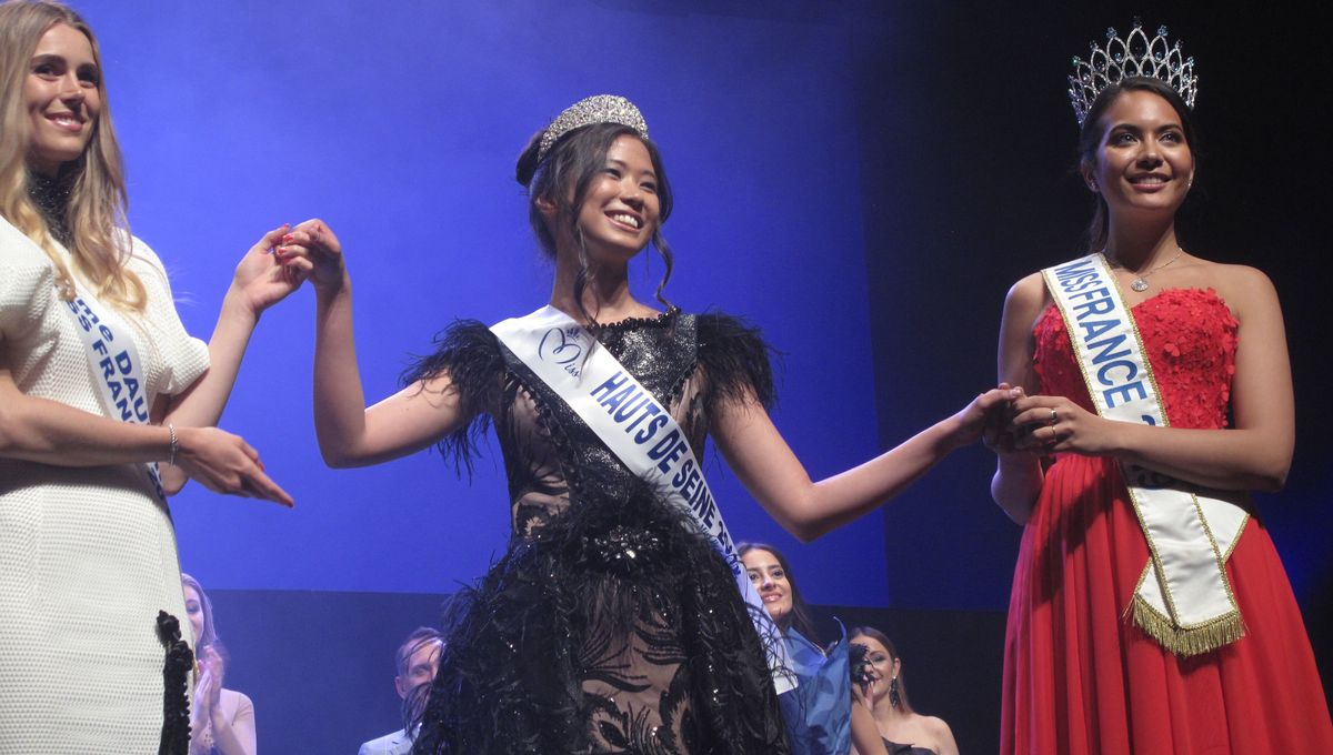 Evelyne de Larichaudy, une Miss Ile-de-France venue de Montrouge
