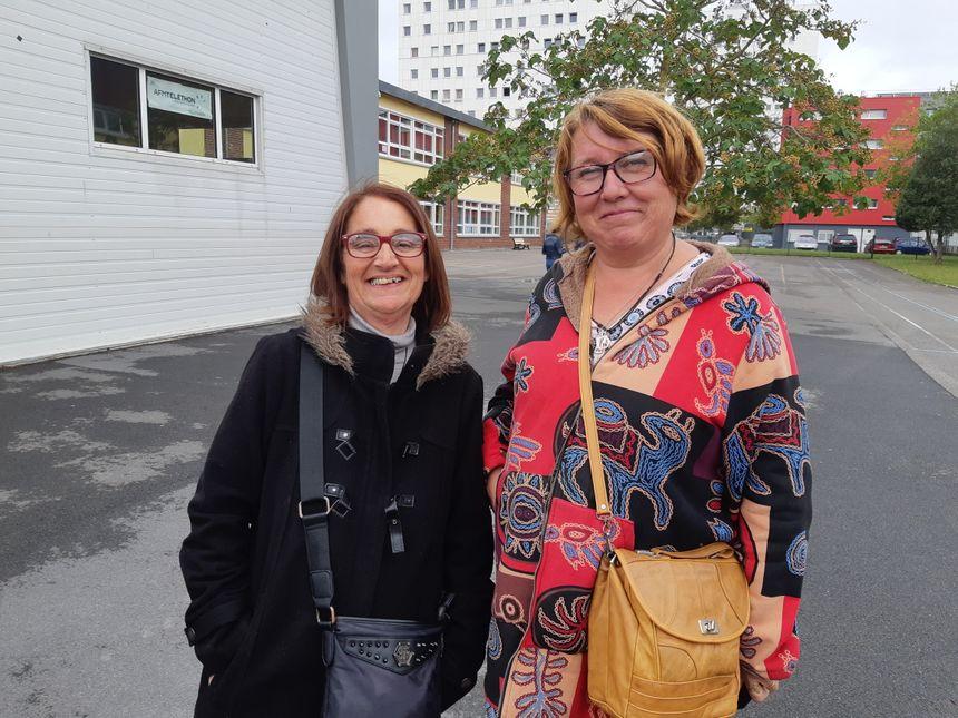 Mercedes (à gauche) et Sylvie particpent régulièrement aux ateliers d'Alco