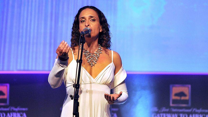 La chanteuse Noa en  2011 à Genève.