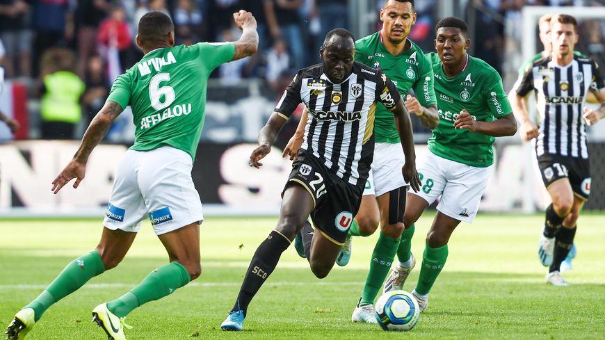 Angers corrige l'ASSE 4-1