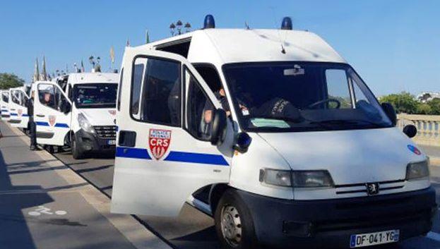A Brest, une compagnie de CRS pour sécuriser Kerourien