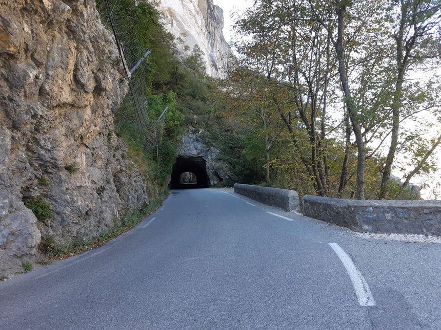 La route des Petits Goulets dans la Drôme