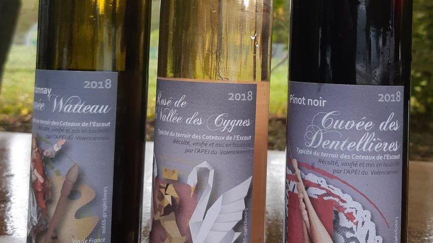 Le rouge, blanc et rosé Valenciennois qui sera bientôt commercialisé