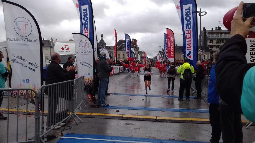 C'est la Lavalloise Magali Gougeon qui remporte le marathon des écluses