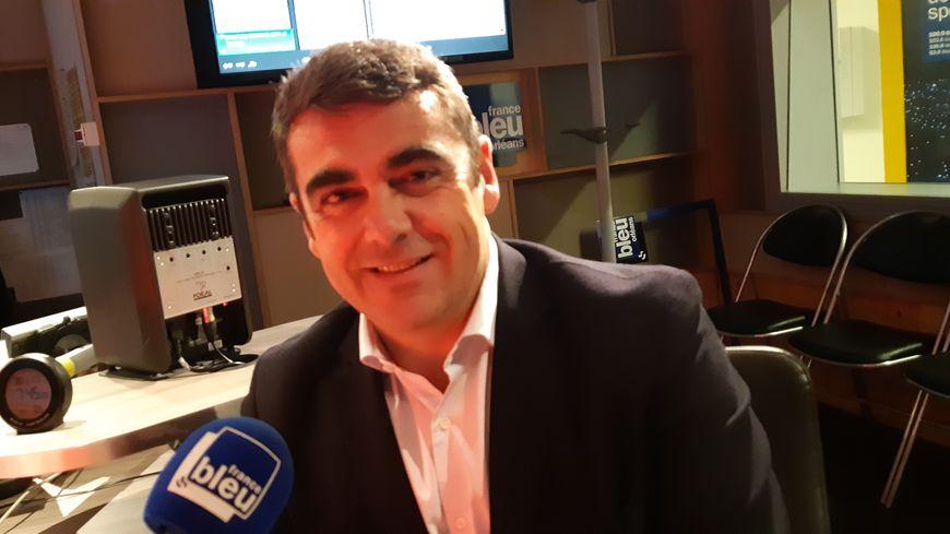 Olivier Geffroy, président du parti Les Républicains dans le Loiret