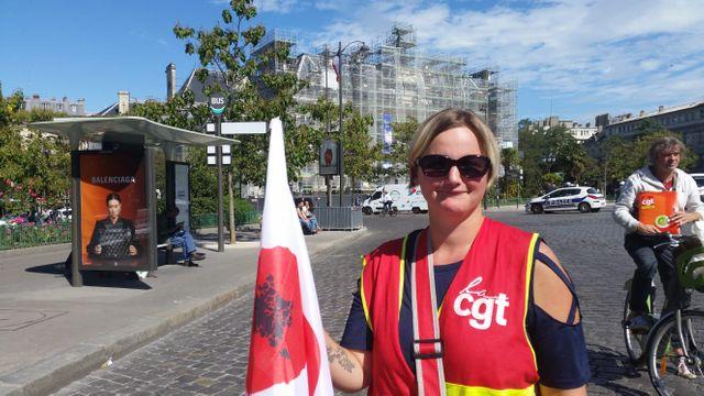 Élodie, 30 ans, agent de soins hospitaliers à l'hôpital de Lesneven dans le Finistère.
