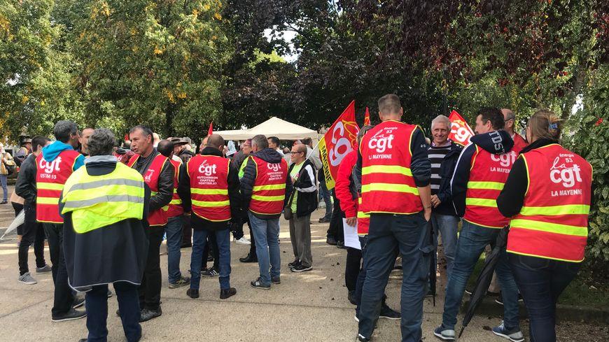 Prochaine manifestation contre la réforme des retraites à Laval, le 8 octobre prochain.