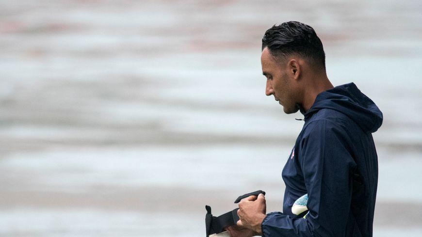 Le gardien costaricien a participé à son premier entraînement avec le PSG