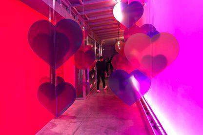 Des coeurs partout dans l'ancienne Maison Rouge pour cet événement Instagram