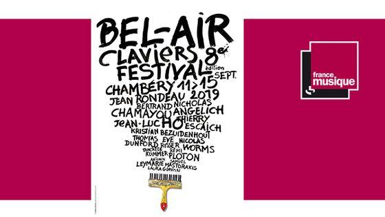 Bel-Air Claviers Festival du 11 au 15 septembre 2019